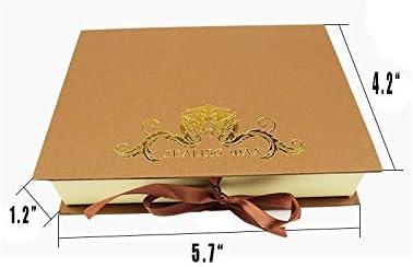 Merry Christmas Tree Star Wax Seal Stamp,YGHM Natural Rosewood Handle Sealing Wax Stamp Kit Gift Box Wine Package Wedding Invitations Card Envelope Vintage Seal Stamp