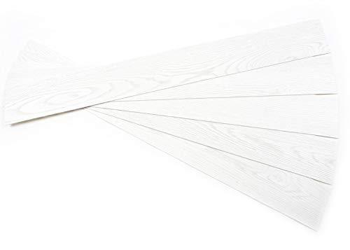 ROSEROSA Peel and Stick Engineered Polypropylene Planks Safety & Abrasion Resistance Adore Oak Durable Flooring (ECK-701 : 5 Planks) (Oak Vinyl Planks)