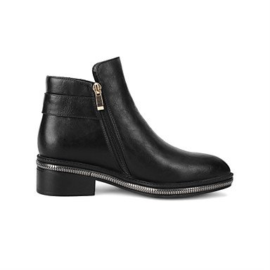 lfnlyx Damen Schuhe Herbst/Winter Fashion Stiefel/spitz Toe Stiefel Outdoor/Kleid/Casual geschoben Ferse Reißverschluss andere