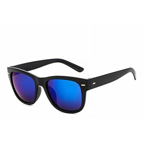 96ead992e34 Envio gratis con Gafas de Sol Cuadrados de Diamante Negro Y Azul Brillante