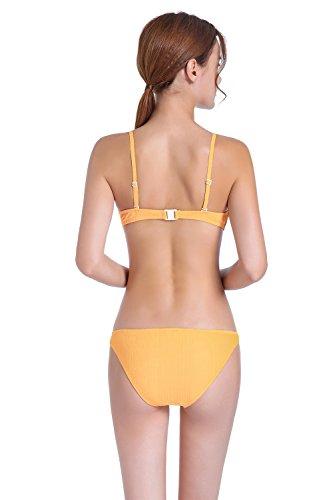Costumi Yellow Brasiliani Da Up JYMDH Con Bagno Costumi Donna L Da Da Imbottiti Push Bagno Bagno Bagno Da Sexy Da OUvqOcwC