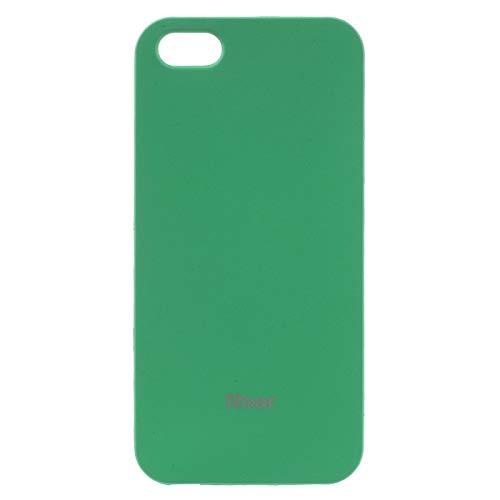 Everything cellular All Day Colorful Jelly TPU Shell Case for iPhone SE/5s/5 (neon Aqua)