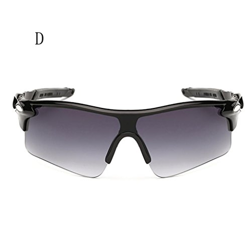 Vovotrade Outdoor Sport Cycling Bicycle Bike Riding Sun Glasses Eyewear Goggle UV400 Lens (D, 6.8 - Masculino Oculos Sol De