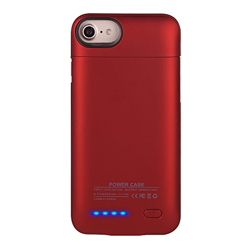 Cheap Charger Cases IPhone 7/6S/6 Battery Case, Mbuynow 3000mAH Ultra-thinBattery Case Rechargeable Backup Battery Power..