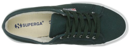Superga - Zapatos de algodón para hombre Verde