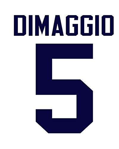 Joe DiMaggio New York Yankees Jersey Number Kit, Authentic Home Jersey Any Name or Number Available by...