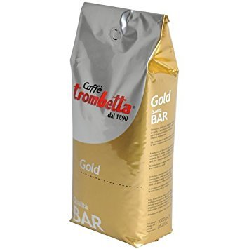 - Trombetta Caffe Gold Bar Whole Espresso Coffee Beans, 2.5 Pound Italian Coffee Beans Whole