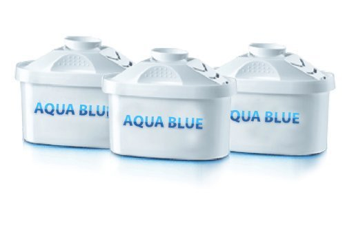 3 Pack Premium Replacements Filter for Mavea Maxtra 1001122 Pitcher By Aqua Blue by AQUA BLUE