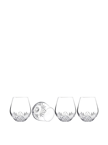 Godinger Dublin Stemless Goblets, Set of 4