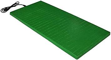 Placas Verdes Manta eléctrica de calefacción para Perros, Gatos y Mascotas. Calefacción para Perros