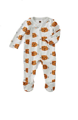 Tea Collection Footed Romper, 3-6 Months, Cuddly Cubs