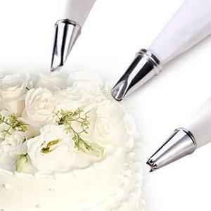 Autek 24PCS Icing Piping Nozzles Pastry Tips Cake Sugarcraft Decorating Tool Box Set