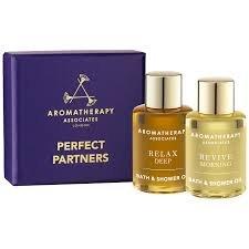 Perfect Partners Bath & Shower Oils Gift Set 2 x 7.5 ml by Aromatherapy Associates