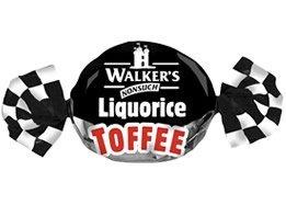 Walkers Liquorice Toffee - 1Kg by Walkers