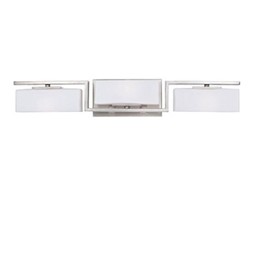 - Designers Fountain 6713-SP Meridian 3 Light Bath Bar