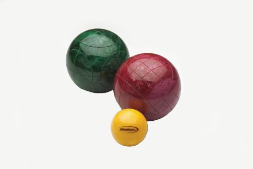 Halex Platinum Bocce Set (115mm Pearlized Resin Balls)