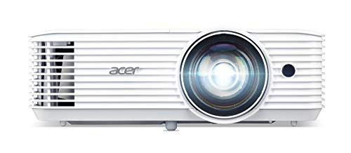 Acer H6518STi DLP Beamer met korte afstand, Full HD, 1.920 x 1.080 pixels, 3.500 ANSI lumen, 10.000:1 contrast, 3D Ready…