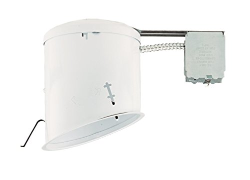 NICOR Lighting 6-Inch Non-IC Rated Sloped Recessed Remodel Housing (Non Ic Rated Recessed Housing)