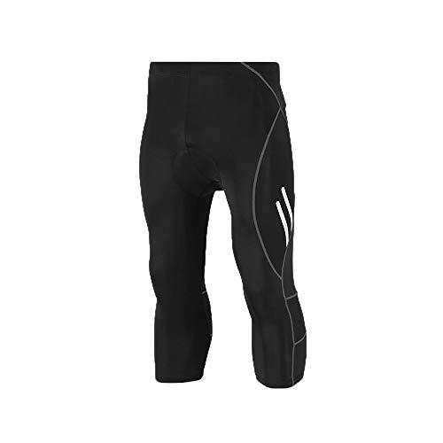 持参確保するパールEXLURA サイクルタイツ 9分丈 7分丈膝下 メンズ 3Dゲルパッド付き 夜間反射 吸汗速乾 サイクリングウェア