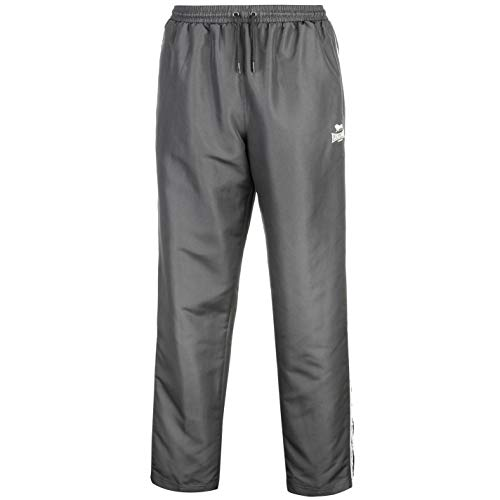 Lonsdale Mens 2 Stripe Open Hem Pants