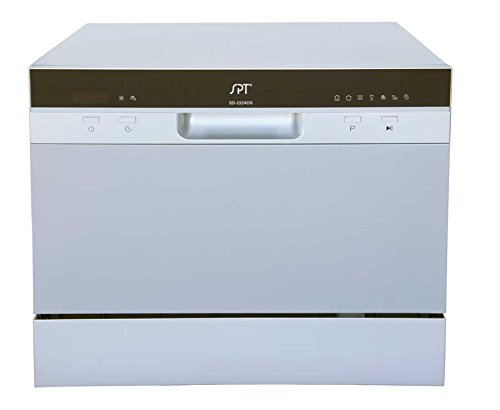 SPT SD-2224DS Countertop Dishwasher With Delay Start & LED