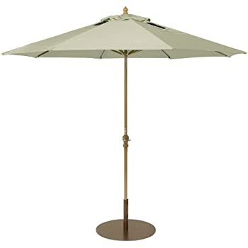 Attractive SolPower 9000 Patio Umbrella With 2 Built In USB Ports, 9 Feet,