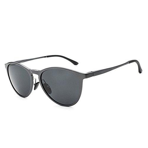 la libre de marco moda marco de lente RFVBNM conductor magnesio gris gris sol hombre polarizado sol sapo Aluminio conducción anti gafas al gris de personalidad Lente gafas gris sol de aire gafas marco qZxTgqw