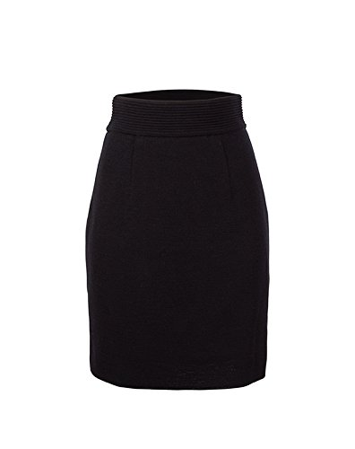 Dale of Norway Women's Knit Skirt Black Skirt L (Women's 12-14)