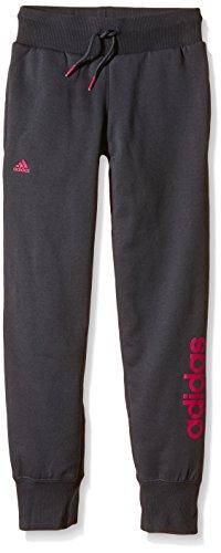 Adidas YG ESS LIN P CH-Fitness-Hose für Mädchen, Gris / Fucsia, 170
