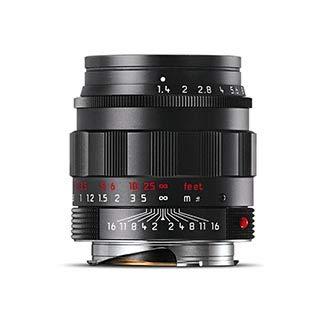 - Leica 50mm f/1.4 SUMMILUX-M Aspherical, Manual Focus Lens for M System - Black Chrome - U.S.A. Warranty