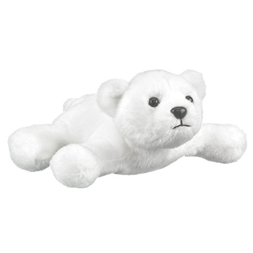 Play Critters Wildlife Artists Polar Bear Cub Plush Finger Puppet Toy, 7