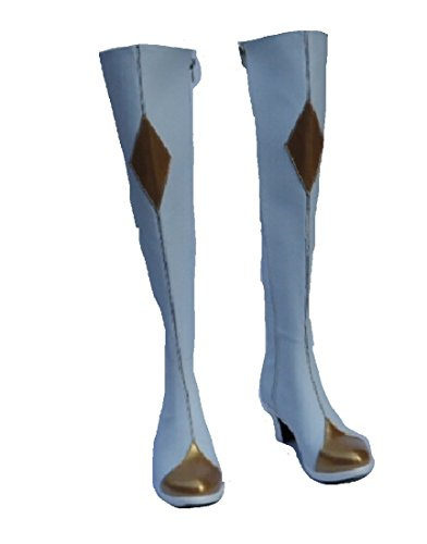 Code Geass Lelouch of the Rebellion R2 C.C. cosplay costume Boots Boot Shoes (Code Geass Uniform Costumes)
