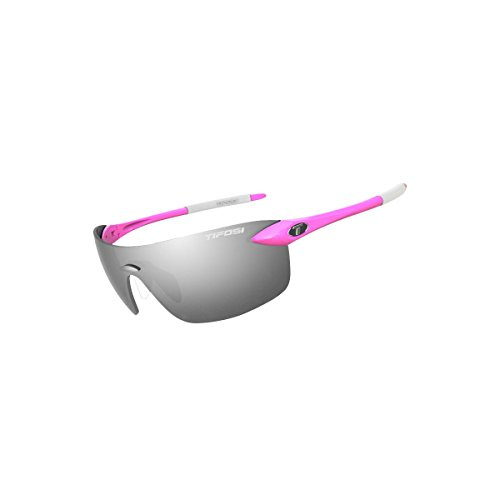 Tifosi 2016 Vogel 2.0 Single Lens Sunglasses, Neon Pink