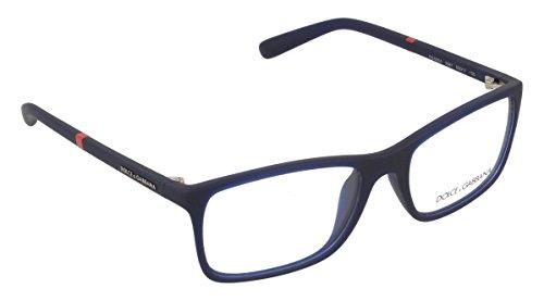 Dolce&Gabbana LIFESTYLE DG5004 Eyeglass Frames 2981-53 - Opal Blue Rubber - Buy Gabbana Dolce