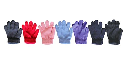 MJ Boutique Wholesale 10 Dozens of Kids Gloves Bulk Sale Boys Girls Donation Charity Retail MJ4521/6 by MJ Boutique