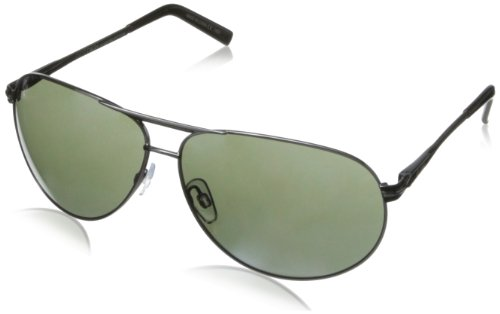 Dot Dash Bufordt Aviator Sunglasses,Charcoal,62 - Dot Shades Com