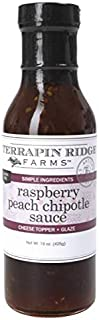 product image for Raspberry Peach Chipotle Sauce by Terrapin Ridge Farms – One 15 oz Bottle