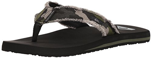 Pictures of Quiksilver Men's Monkey Abyss Three-Point Sandal 12 M US 9