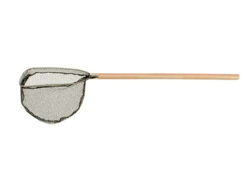 Promar Wood Handle Bait Scoop Net, 7-Inch X 8-InchX 24-Inch (Dip Net Bait)