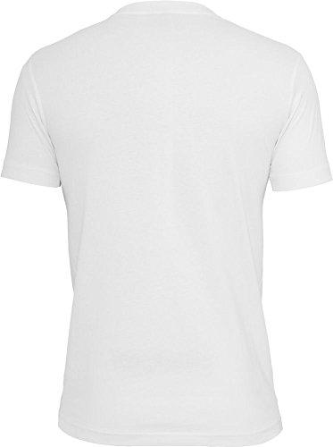 Urban Classics Herren T-Shirt Rundhals white/camouflage L