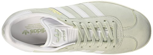 Adidas Originali Da Donna Originali Gazzella Scarpe Da Ginnastica Di Tela Us8.5 Verde