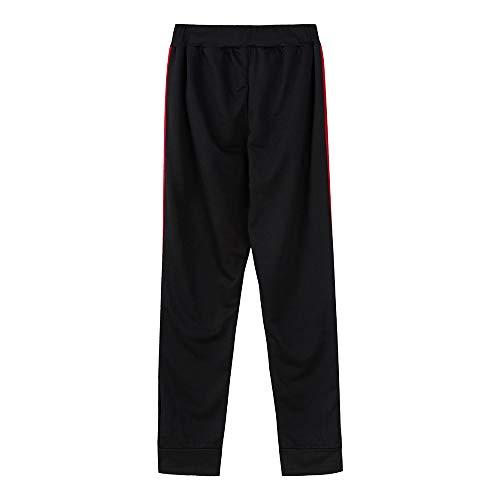 Sueltos Pantalón A moda Patchwork Pantalones Casual Chándal Largos Botón Hombres Para Sólidos Hombre vwwTS07q
