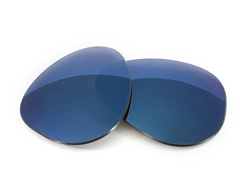 FUSE Midnight Blue Mirror Tinted Lenses for Oakley Plaintiff