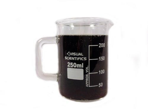 Premium Beaker Mug – Thick Borosilicate Glass