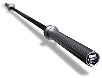 ironcompany usa-made 7 olímpico de Bar 45 kg de peso muerto ...