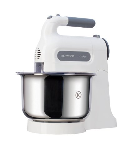 Kenwood HM680 Chefette Hand Mixer with Bowl - White