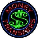 Money Transfers - Ultra Bright LED Sign - 26'' x 26''
