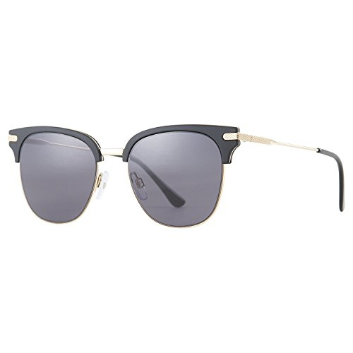 Sunglasses, LUXEAR Fashion Vintage Sunglasses with Semi-Rimless Frame Design, UV400 Protection For Women&Men