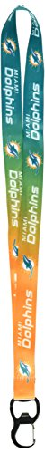 NFL Miami Dolphins Ombre Lanyard, Green