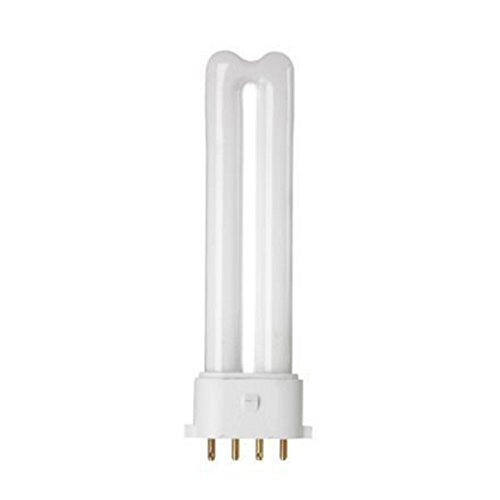 10 x GE LIGHTING 5w CFL Biax S/E 4 Pin Lamp - 840-4000k - Cool White - Ge Lamps Cfl